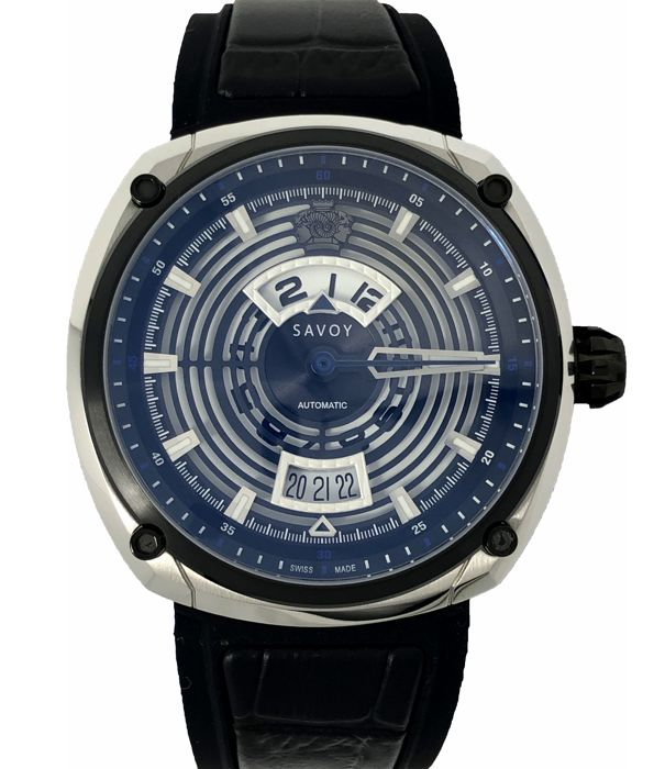 """Savoy - Epic Continuous Hour Limited Edition Automatic Swiss Made  """"NO RESERVE PRICE"""" - F1703H.02D.RB01 - Heren - 2011-heden"""