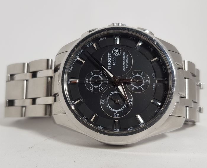 Tissot - Couturier Automatic  - T035.627.16.051.00 - Herren - 2000-2010