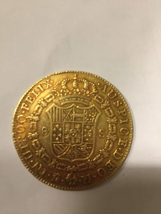 Spain - Madrid - 8 Escudo Carlos III - 1773 - Gold