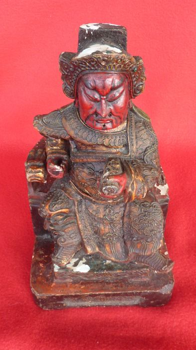 Wooden statue - Vietnam - late 19th century