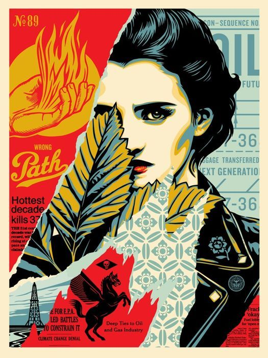 Shepard Fairey (OBEY) - Wrong Path