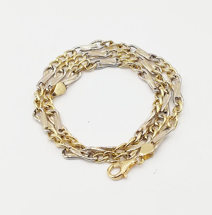Chain in 18 kt Yellow Gold, Length 48.00 cm, Total Weight 16.39 g
