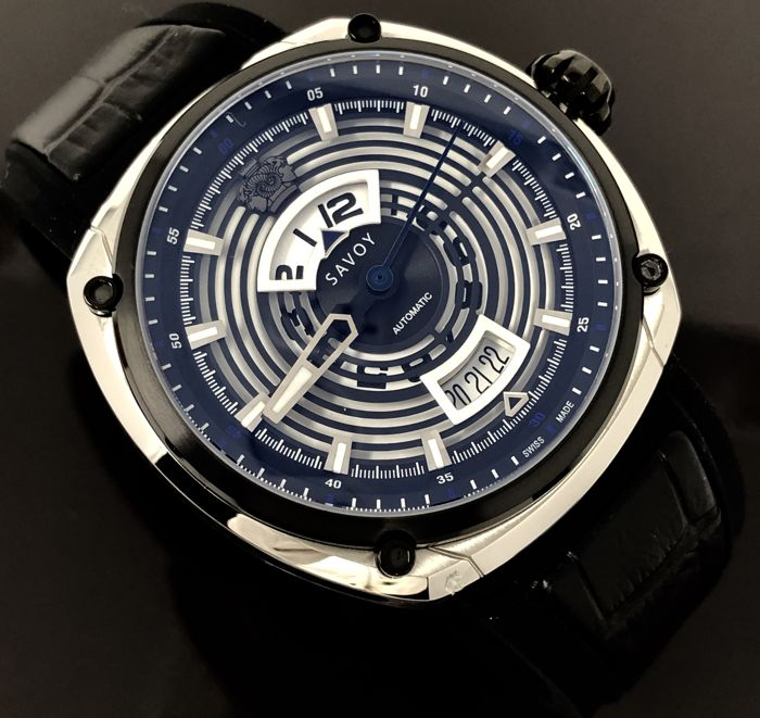 "Savoy - Epic Continuous Hour Limited Edition Automatic Swiss Made - F1703H.02D.RB01 ""NO RESERVE PRICE"" - Homem - BRAND NEW"