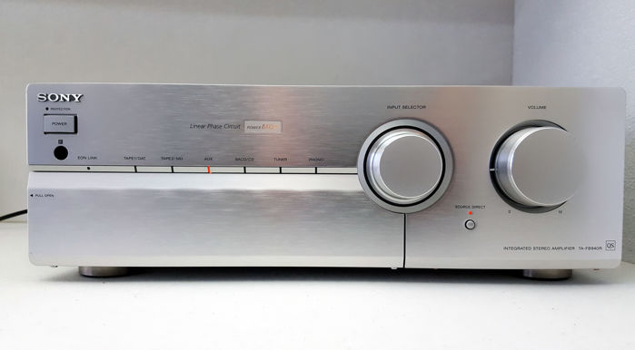 Audiophile Sony TA-FB940R MOSFET amplifier - Catawiki