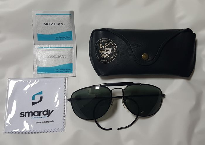 5beaf6cfd2 Bausch and Lomb Ray Ban Usa - Explorer Black Chrome - Olympic Games 1992
