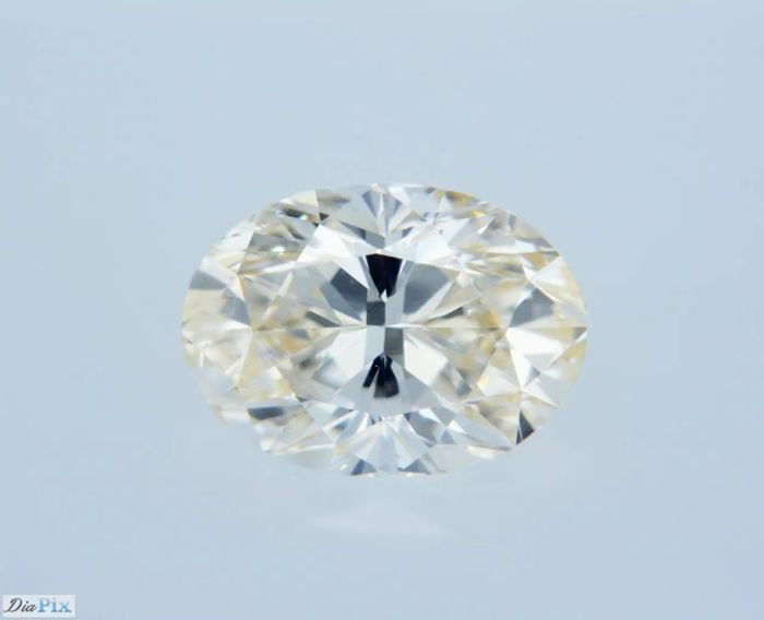 1 Diamond - 0.7 ct - Oval - Yellow - SI2