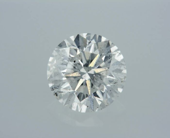 1 Diamond - 0.88 ct - Brilliant - E - SI1