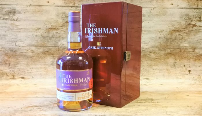 Irishman Rare Cask Strength in original luxury wooden case - 70cl