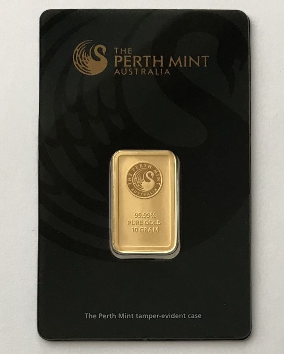 10 Gramm - Gold .999 (24 Karat) - Perth Mint - Seal