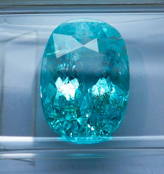 Paraiba Tourmaline  - 4.09 ct - No Reserve