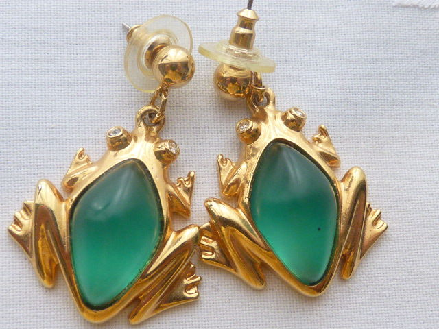 Fancy AVON jelly belly Gold-plated - Earrings