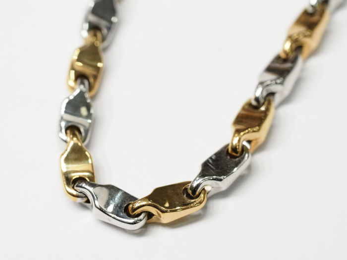 Necklace - Bicolour, Pink gold, White gold