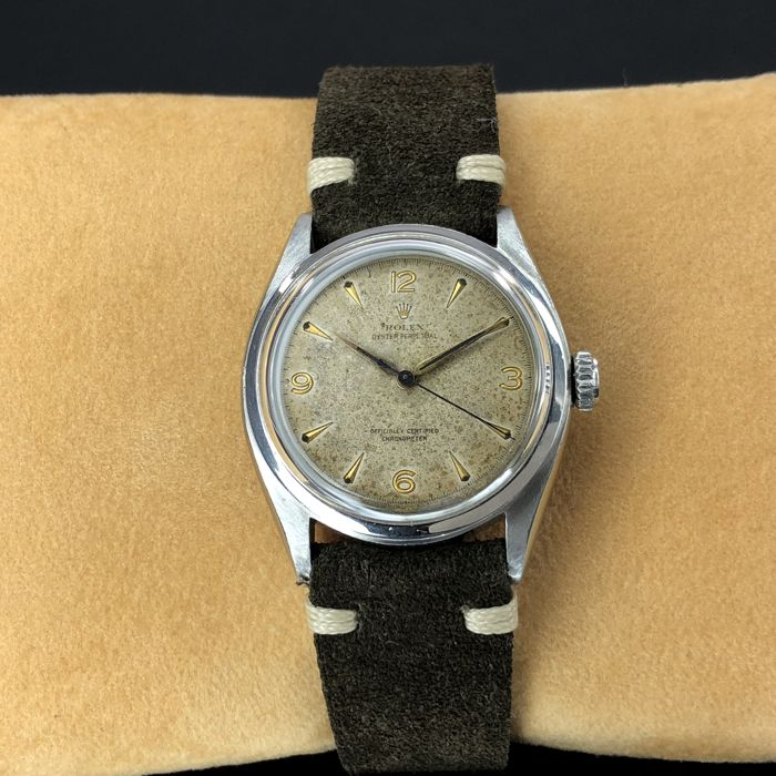Rolex - Oyster Perpetual Bubble Back - 6084  - Unisex - 1950-1959