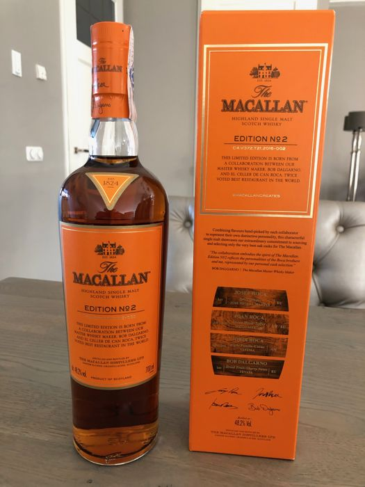 Macallan Edition no. 2 - Official bottling - 700ml