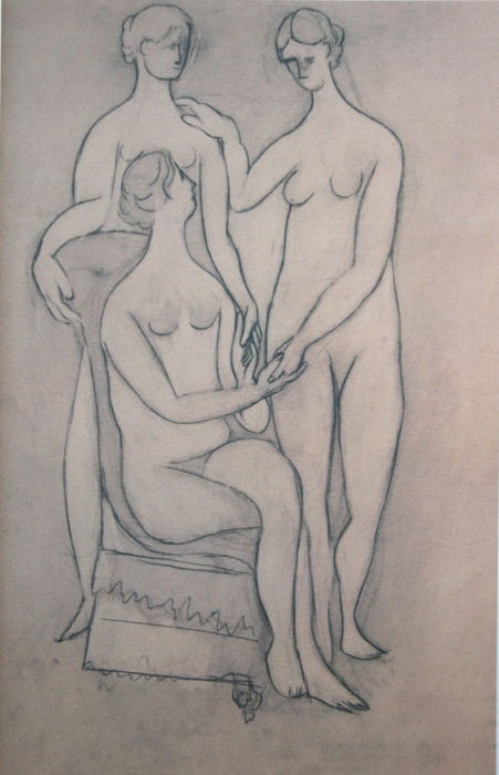Pablo Picasso (after) - The three Graces