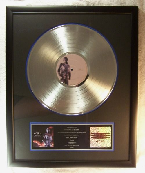 "History Platinum: Michael Jackson ""HIStory Past Present And Future Book 1"