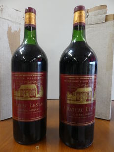 1966 Chateau Lestage - Listrac Medoc - Grand Cru Bourgeois Superieur - 2 Magnums of 150 cl