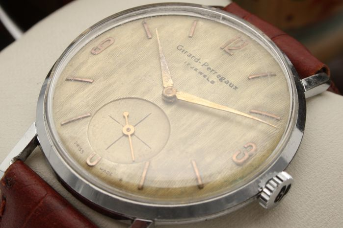"""Girard-Perregaux - Oversized 36mm - """"NO RESERVE PRICE"""" - Ref. 75186123 • Cal. 27BF213 - Hombre - 1960s"""