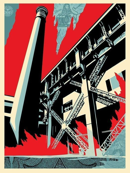 Shepard Fairey (OBEY) - Fossil Factory