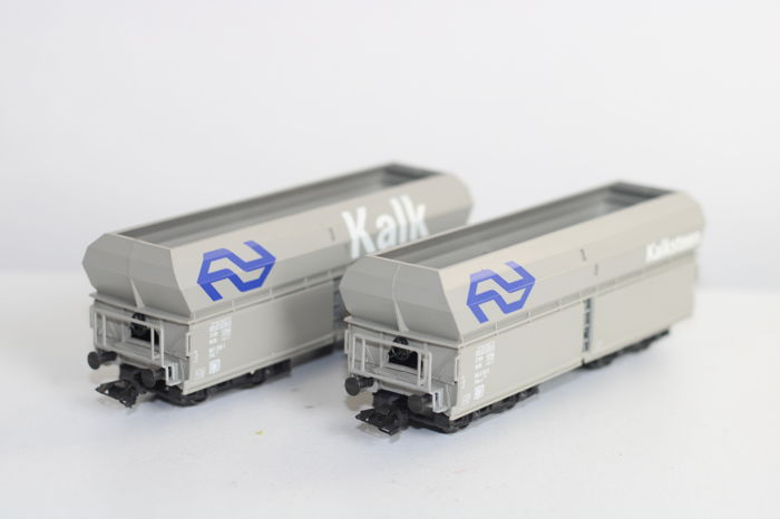 Märklin H0 - 46242 - Freight wagon set - 2 lime cars type Fals (-z) - NS