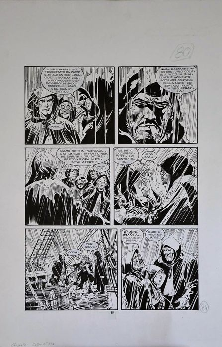 Zagor #392 - original page - Loose page - First edition - (1998)