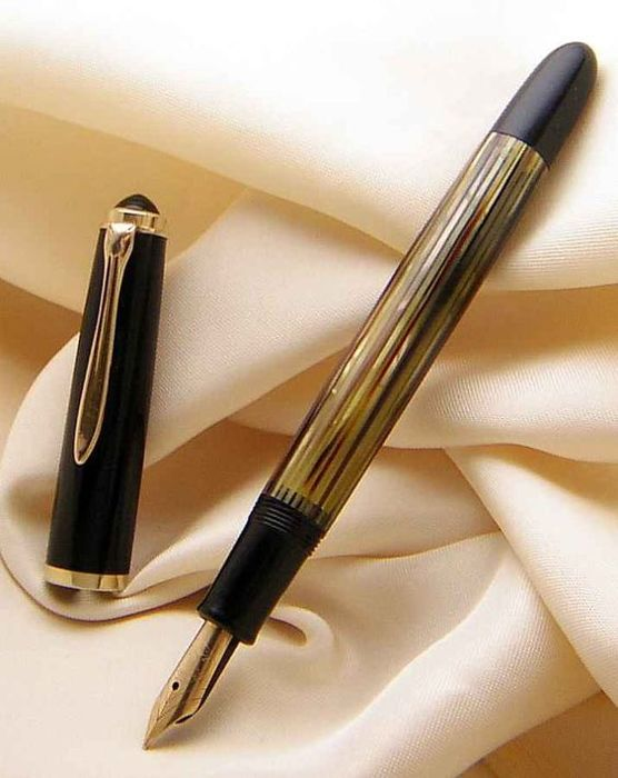 Pelikan - Limited edition - M400 / M 400 Exclusive Brown Tortoiseshell Turtle & 585 Gold * Polished in new Conditions from of 1