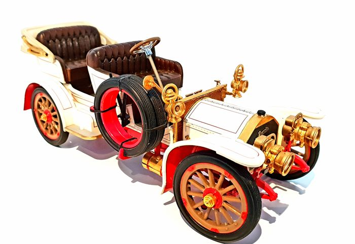 Franklin Mint - Extremely Detailed Mercedes Simplex Model - Made out of 154 different components, MINT IN BOX