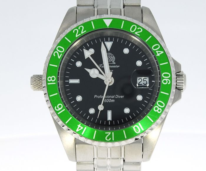 Tauchmeister - Professional Diver 600M Mens stainless steel watch - T0172  (No reserve price) - Homem - 2011-presente