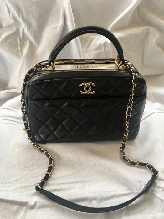 Chanel - Bowling Shoulder bag - Catawiki 05edd48273dea