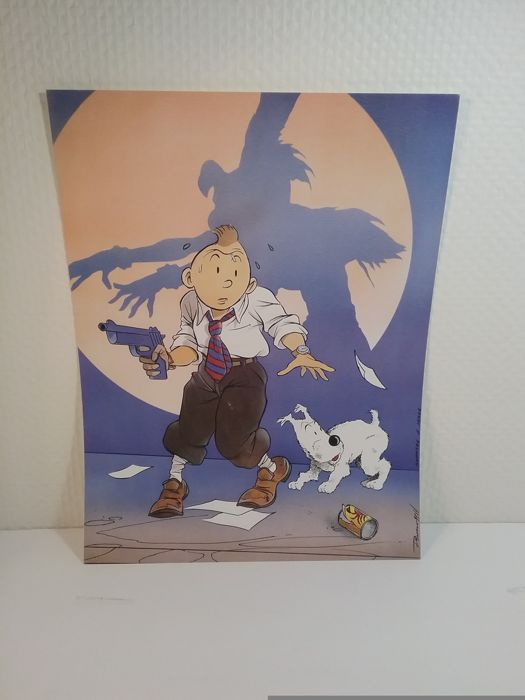 Calendrier Ea.Tintin 5 Objets Ea Theatre Moulinsart 2x Calendrier Image Hommage Somon Catawiki
