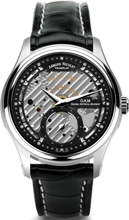 Armand Nicolet - L14 Small Second -Limited Edition- - A750AAA-NR-P713NR2 - official retailer - Men - 2011-present