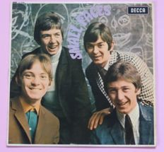 First press mono copy of Small Faces - Small Faces (Decca LK 4790, UK, mono, 1966) Red Decca ffrr label
