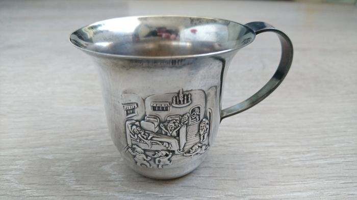 Silver cup - 1 - Silverplate - Netherlands - 1900-1949
