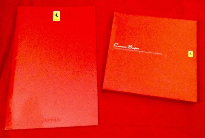 official Ferrari Brochures - Carrozzeria Scaglietti Brochures x 2  - 1998-2003 (2 items)