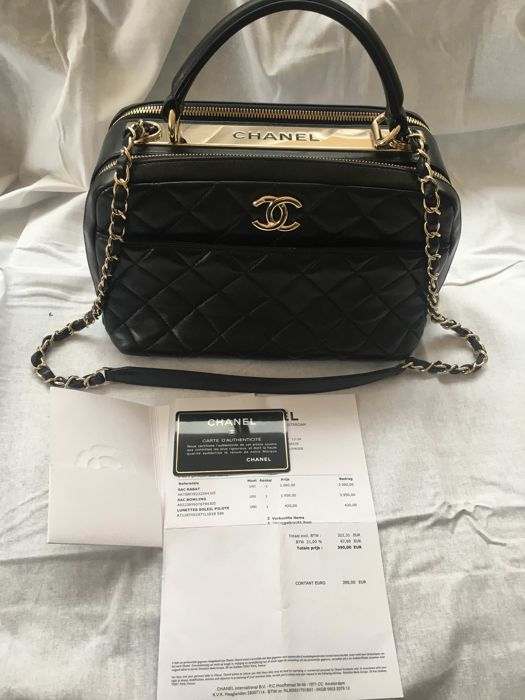 2730c951bc44 Chanel - Bowling Shoulder bag - Catawiki