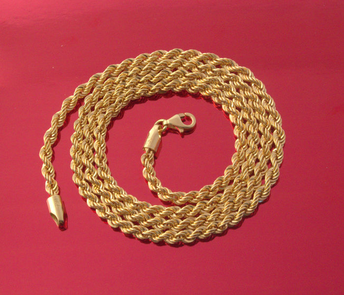18k - Necklace - Gold