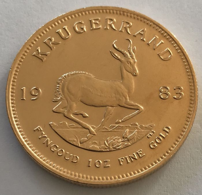 South Africa - Krugerrand 1983 - 1 oz - Gold