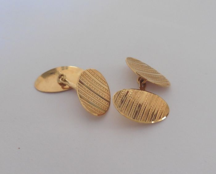 Made in Italy - Cufflinks - Gold
