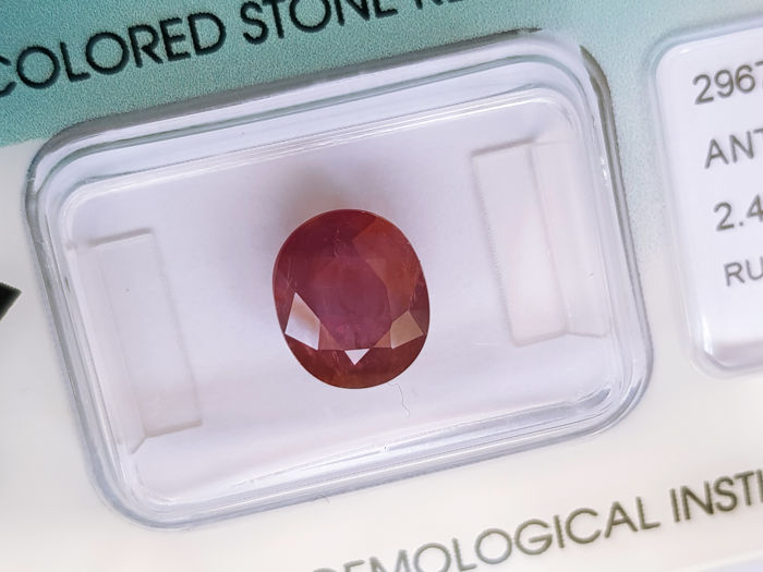 Ruby - 2.47 ct