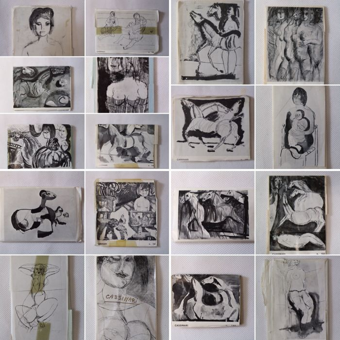 18 Matrices for printing works by Bruno Cassina - 18 - Zinc