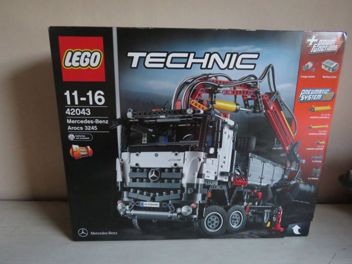 lego technic 42043 truck mercedes benz arocs 3245. Black Bedroom Furniture Sets. Home Design Ideas