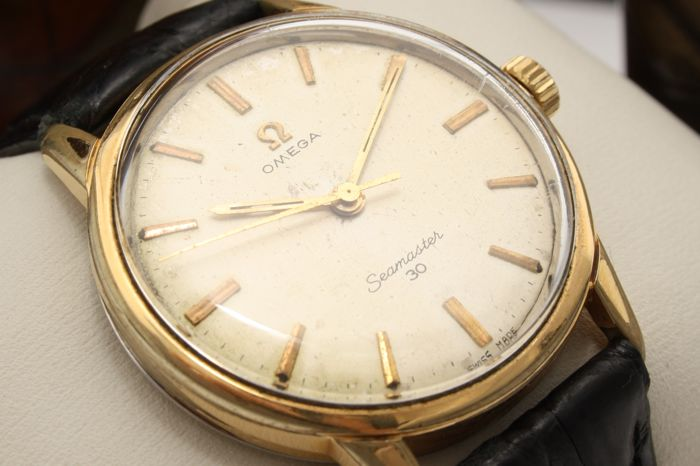 "Omega - Seamaster 30 - ""NO RESERVE PRICE"" - Ref. 135.007 • Cal. 286 Ω - Hombre - 1960s"