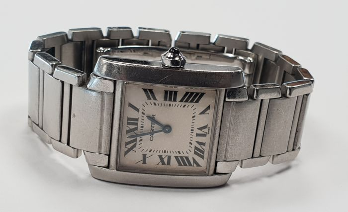 Cartier - Tank Francaise Lady - Ref. 2301 - Mujer - 2000 - 2010