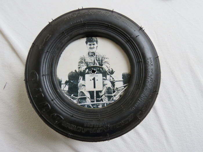 kartband with photo michael schumacher - kartbandje met michael schumacher. - 1985 (1 items)