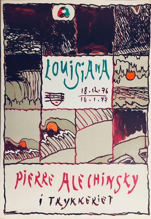 pierre Alechinsky - louisiana