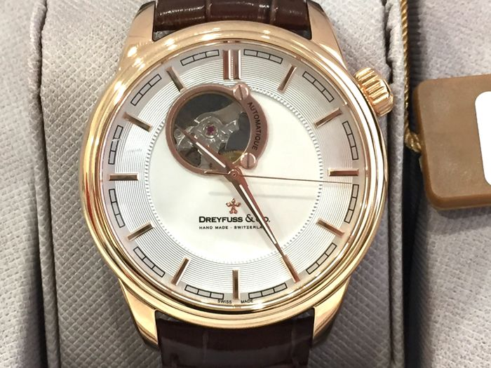 "Dreyfuss & Co. - ""NO RESERVE PRICE "" - DGS001163/02 Automatic  - Swiss Made - Nuovo - Garanzia - Men - 2011-present"