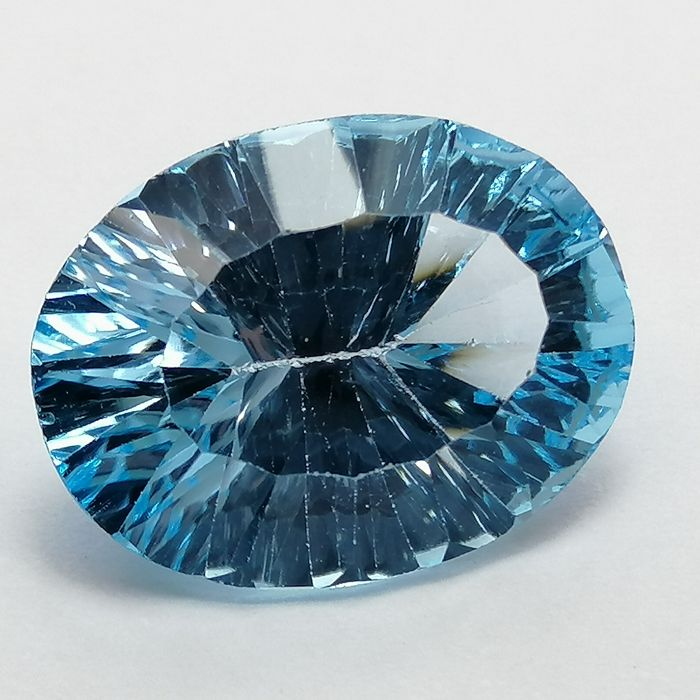 Topacios Sky Blue - 9.20 ct