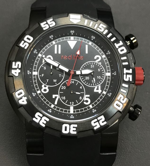 Red Line - Black PVD Men's day-date watch 45mm  - RL-50027 (No reserve price) - Férfi - 2011 utáni