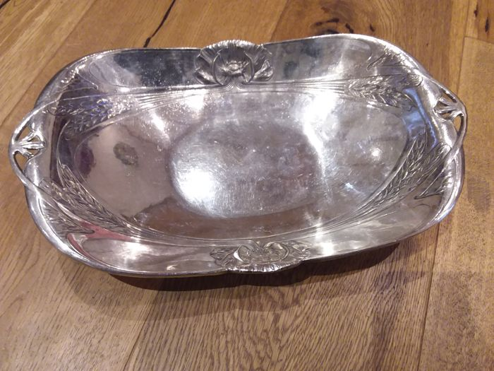 Bread Basket - Collection of 1 - Silver plated, Silverplate - France - 1900-1949