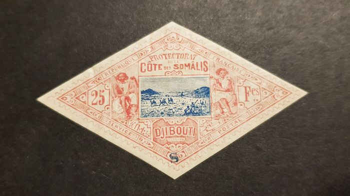 French Colony 1894 - Somalia, specimen - Yvert 20a